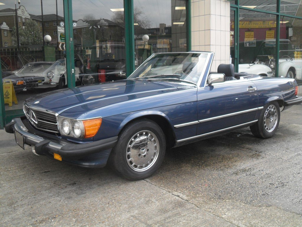 1987 Mercedes 560 SL  For Sale (picture 2 of 6)