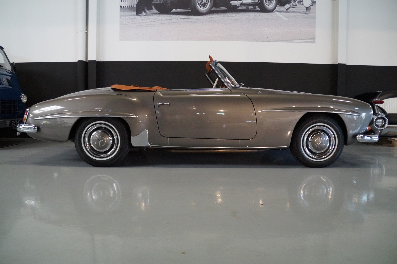 MERCEDES-BENZ 190 SL 190SL Concourse restored (1957) For Sale (picture 2 of 6)