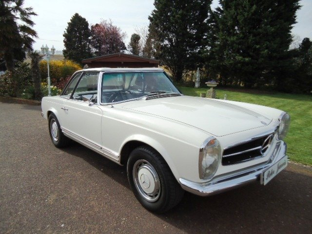 Mercedes 280 SL Sports Pagoda 1968 For Sale (picture 1 of 6)