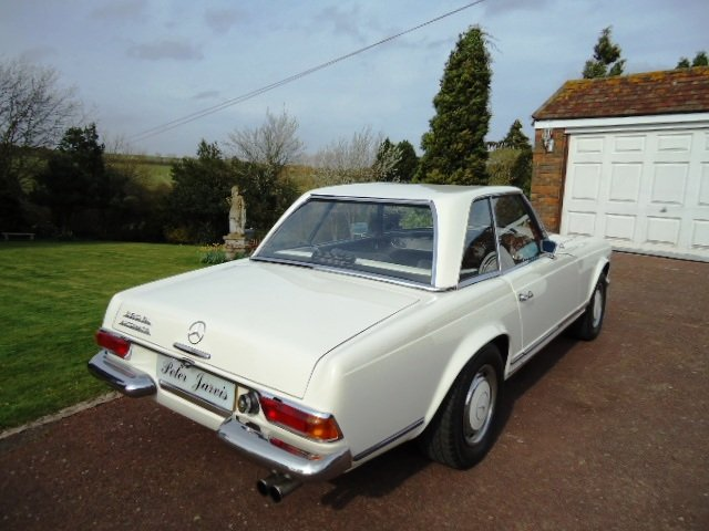 Mercedes 280 SL Sports Pagoda 1968 For Sale (picture 2 of 6)