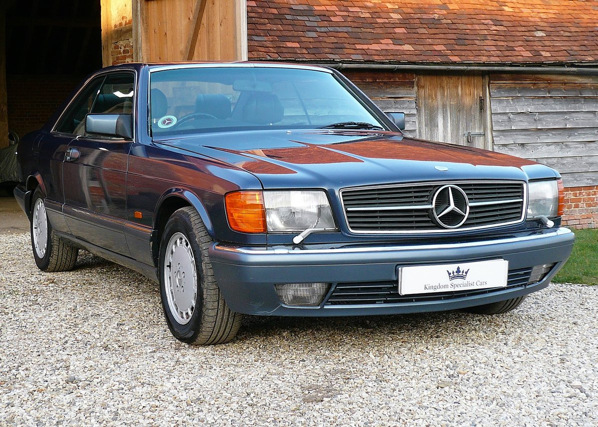 1990 Mercedes-Benz 420SEC as featured in MB Enthusiast magazine SOLD (picture 1 of 6)