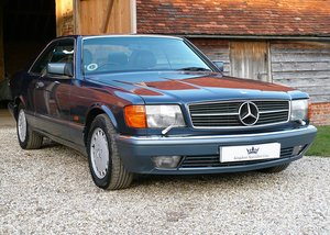 1990 Mercedes-Benz 420SEC as featured in MB Enthusiast magazine For Sale