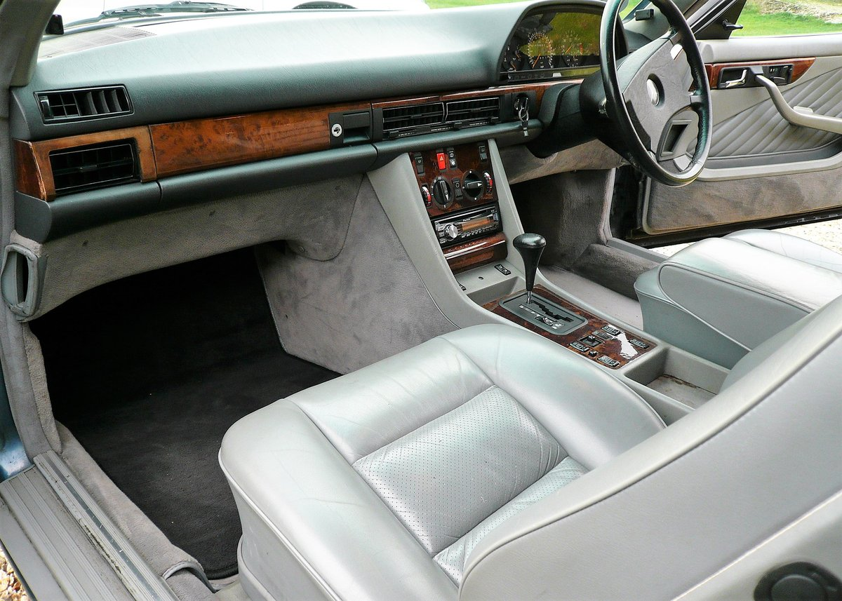 1990 Mercedes-Benz 420SEC as featured in MB Enthusiast magazine SOLD (picture 3 of 6)