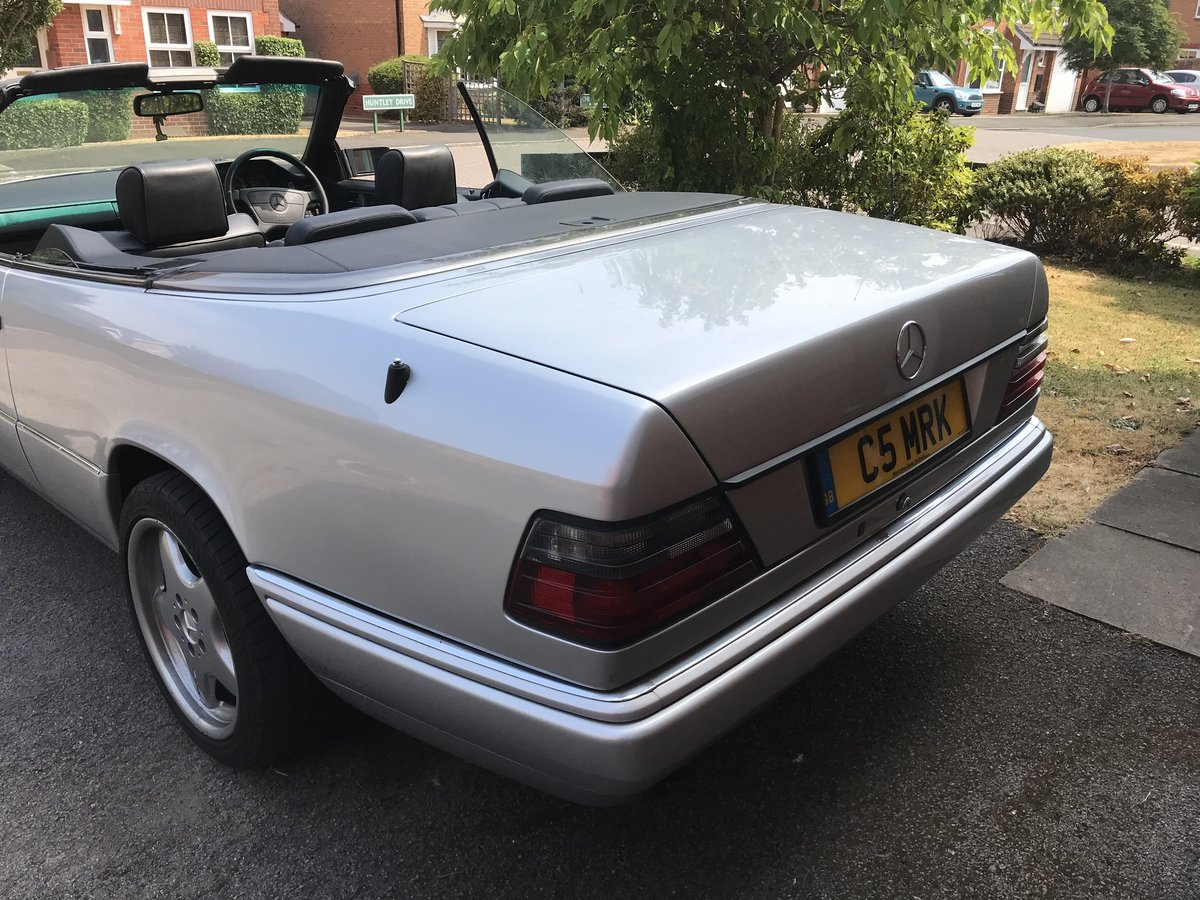 Mercedes E320 Cabriolet W124 1994 For Sale (picture 3 of 6)