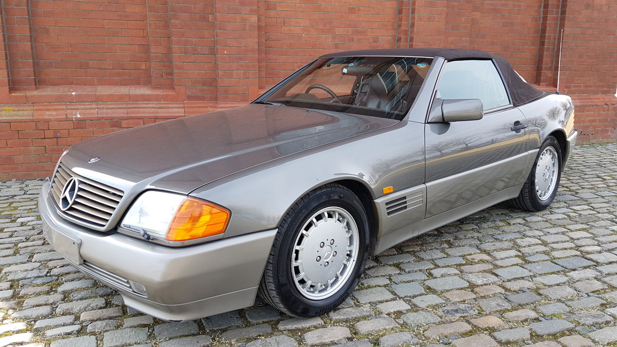 1991 MERCEDES-BENZ SL SL500 AUTOMATIC CONVERTIBLE *  For Sale (picture 1 of 6)