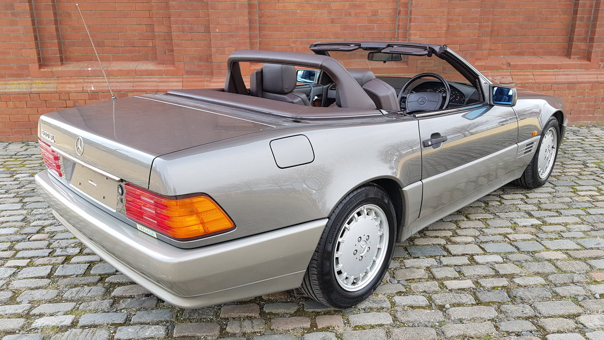 1991 MERCEDES-BENZ SL SL500 AUTOMATIC CONVERTIBLE *  For Sale (picture 3 of 6)