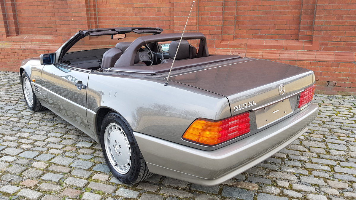 1991 MERCEDES-BENZ SL SL500 AUTOMATIC CONVERTIBLE *  For Sale (picture 4 of 6)