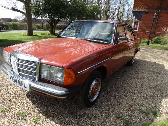 1983 MERCEDES 230E 2.3  For Sale (picture 6 of 6)