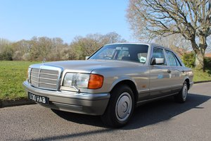 Mercedes 300 SE Auto 1987 - To be auctioned 26-04-19 For Sale by Auction