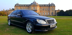 2004 LHD MERCEDES S55 AMG V8 , 500BHP, AUTO, LEFT HAND DRIVE