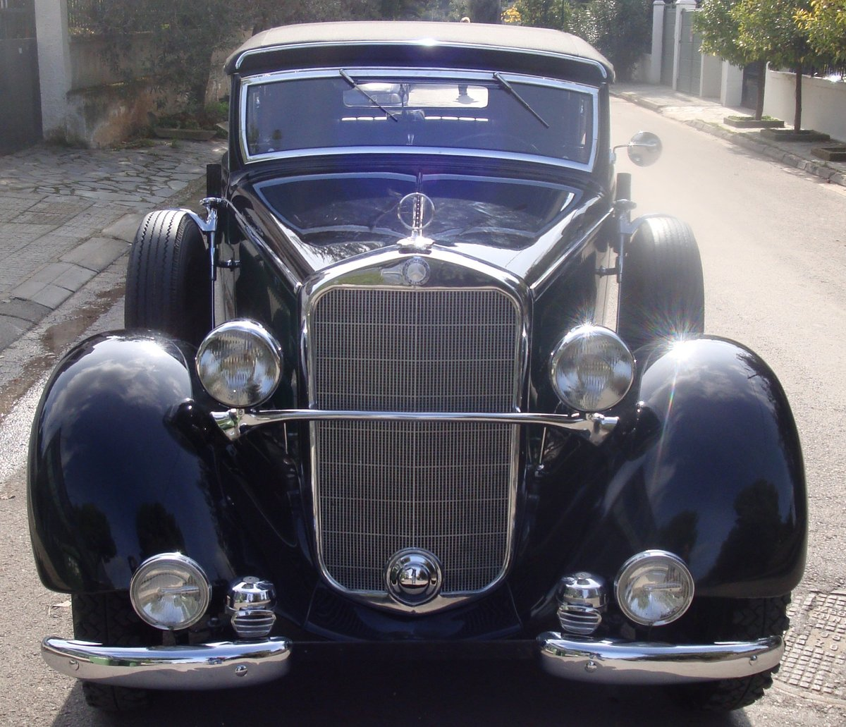 1936 Mercedes-Benz 230 Cabriolet B, 40450mi from new For Sale (picture 1 of 6)