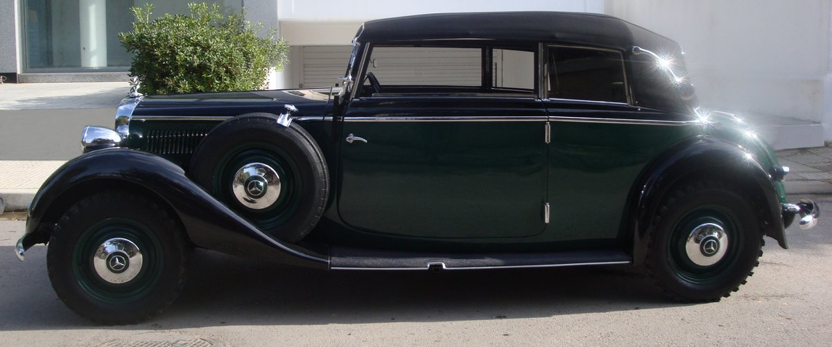 1936 Mercedes-Benz 230 Cabriolet B, 40450mi from new For Sale (picture 2 of 6)