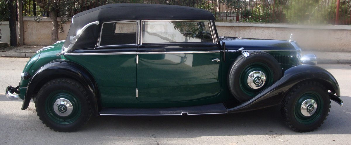 1936 Mercedes-Benz 230 Cabriolet B, 40450mi from new For Sale (picture 3 of 6)