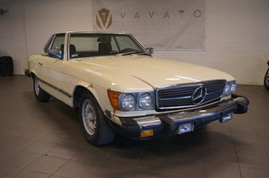 Mercedes benz SL380, 1983 For Sale by Auction