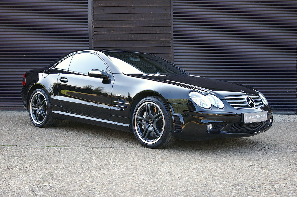 2005 Mercedes SL65 AMG 6.0 V12 Bi-Turbo Convertible (28002 miles) SOLD (picture 1 of 6)