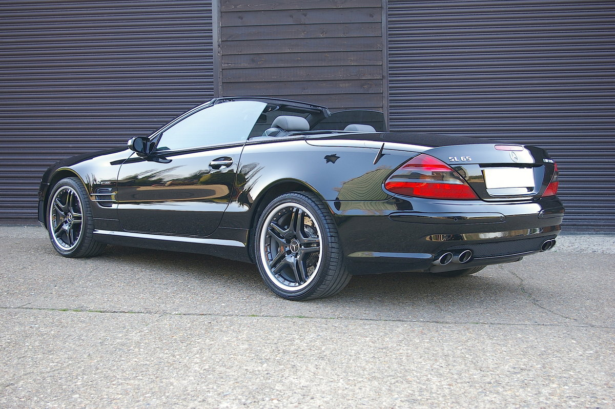 2005 Mercedes SL65 AMG 6.0 V12 Bi-Turbo Convertible (28002 miles) SOLD (picture 3 of 6)