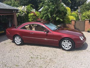 2001 Mercedes CL500 V8 Pillarless Coupe For Sale