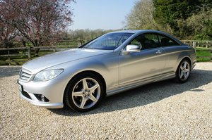 2010 Mercedes CL500 5.5 V8 Coupe - full MBSH, 4 new tyres For Sale