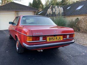 1985 230 CE Ready for extra loving care SOLD