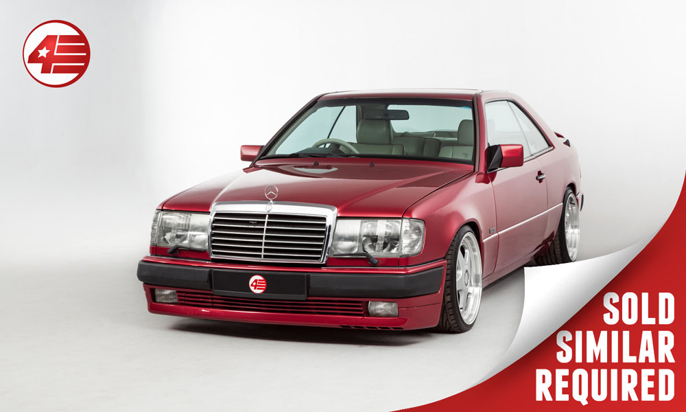1992 Mercedes W124 300CE-24 Carat Duchatelet SOLD (picture 1 of 2)