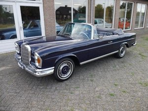Mercedes Benz 250SE CABRIO, 1966 For Sale by Auction
