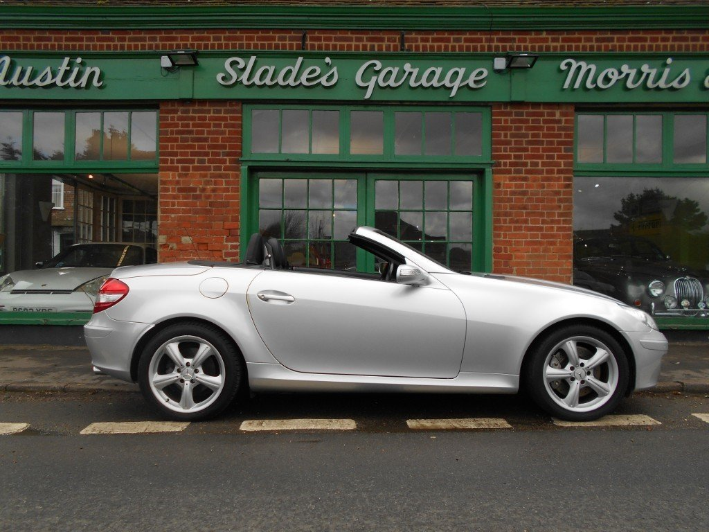 2007 Mercedes SLK 350 Convertible Automatic  SOLD (picture 1 of 6)