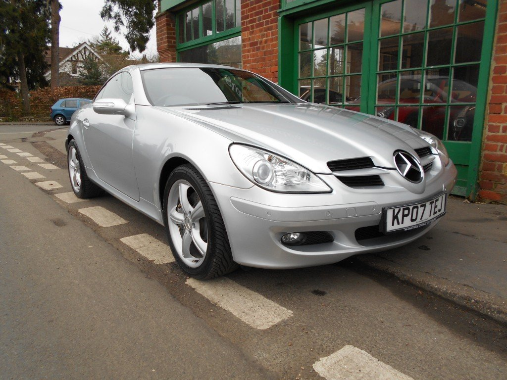 2007 Mercedes SLK 350 Convertible Automatic  SOLD (picture 2 of 6)