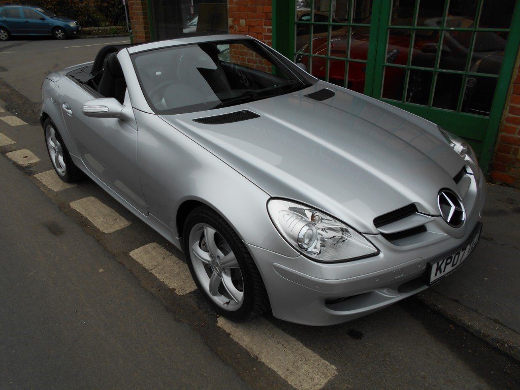 2007 Mercedes SLK 350 Convertible Automatic  SOLD (picture 5 of 6)