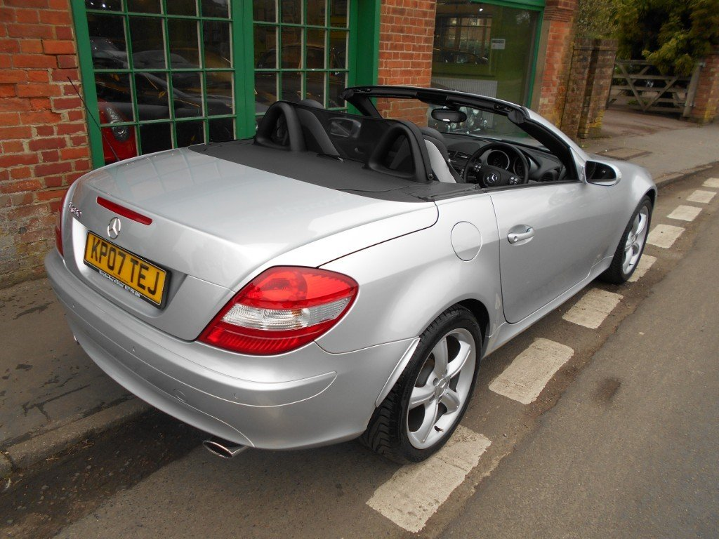 2007 Mercedes SLK 350 Convertible Automatic  SOLD (picture 6 of 6)