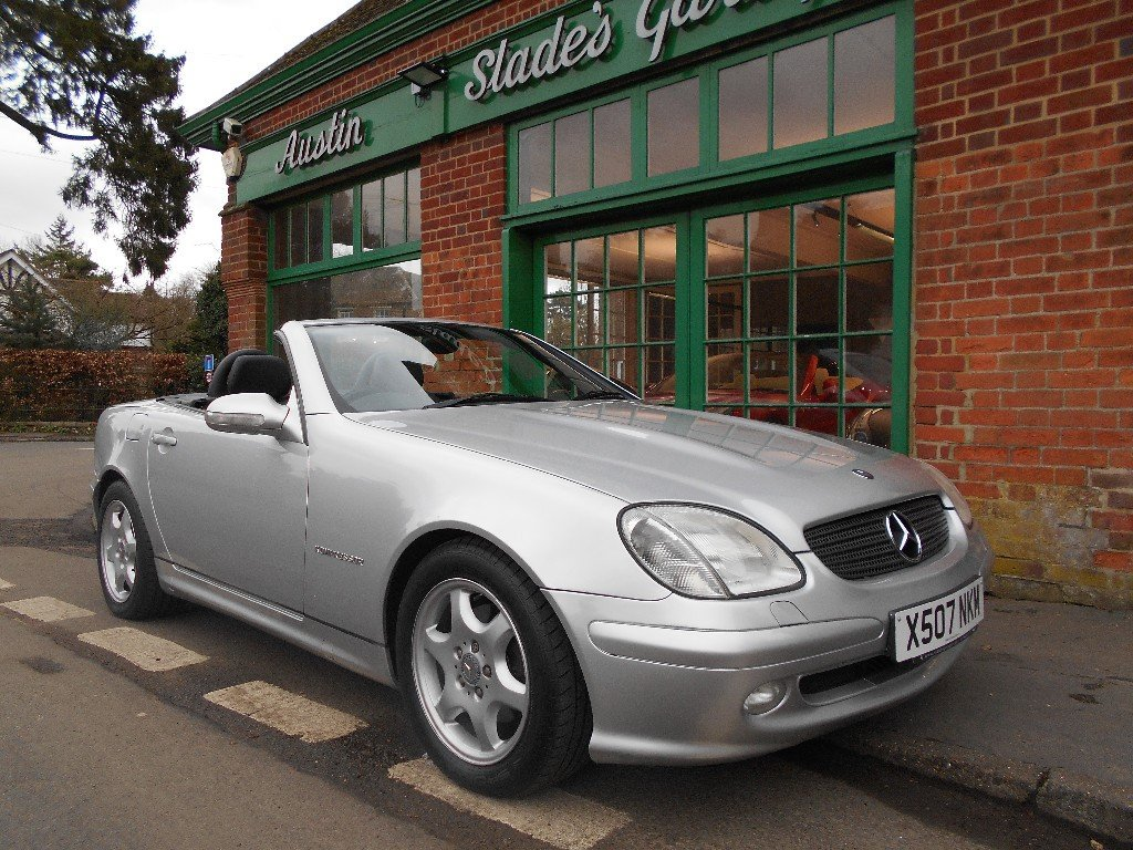 2001 Mercedes Benz SLK 230 Convertible Auto SOLD (picture 2 of 4)
