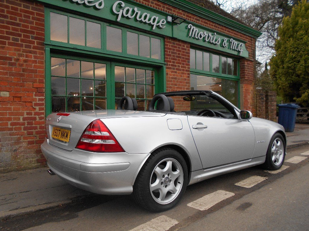 2001 Mercedes Benz SLK 230 Convertible Auto SOLD (picture 3 of 4)