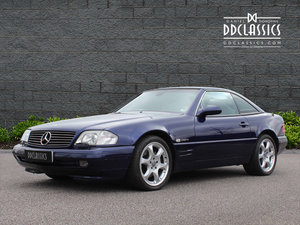 2001 Mercedes Benz SL320 Limited Edition (RHD) For Sale in London For Sale