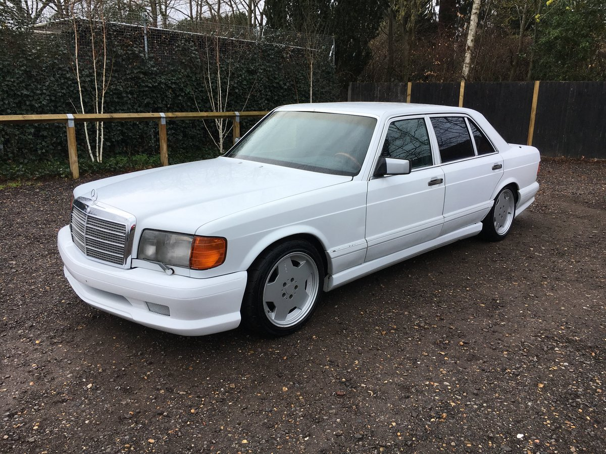 1988 Mercedes 560 SEL LHD rust free car 150HD pics For Sale (picture 3 of 6)