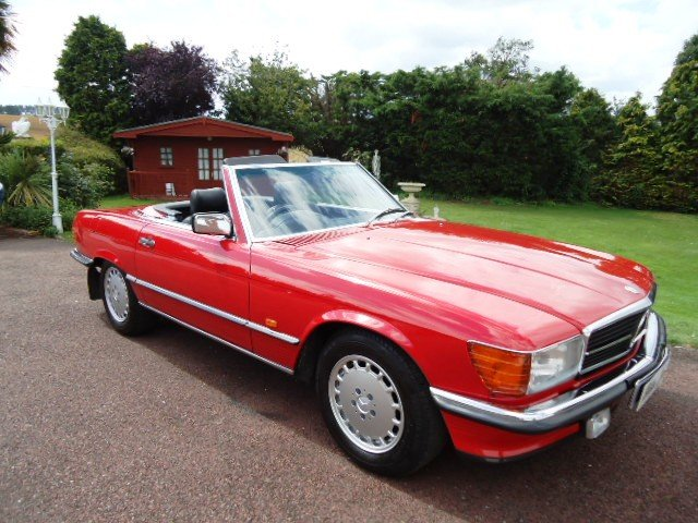 Mercedes sports 300 SL 1987 For Sale (picture 1 of 6)