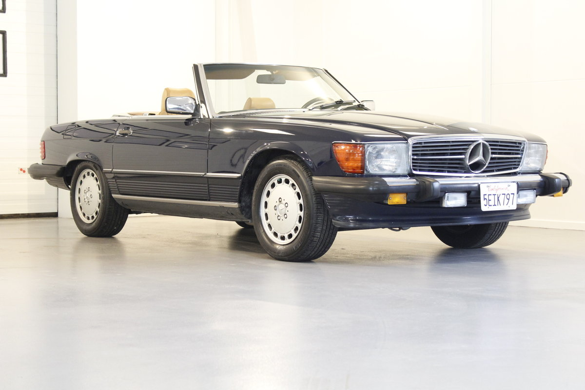 1988 Mercedes-Benx 560 SL Aut. Convertible For Sale (picture 1 of 6)