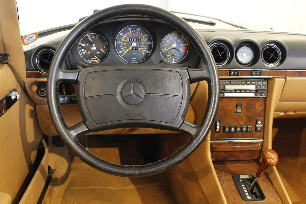 1988 Mercedes-Benx 560 SL Aut. Convertible For Sale (picture 5 of 6)
