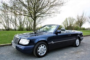 1996 Stunning W124 E220 Cabriolet Sportline Model For Sale