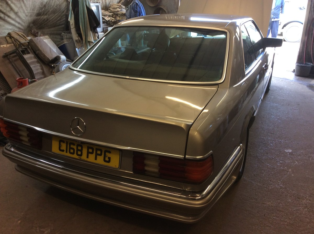 1985 Fabulous rare  MECEDES classic For Sale (picture 2 of 6)