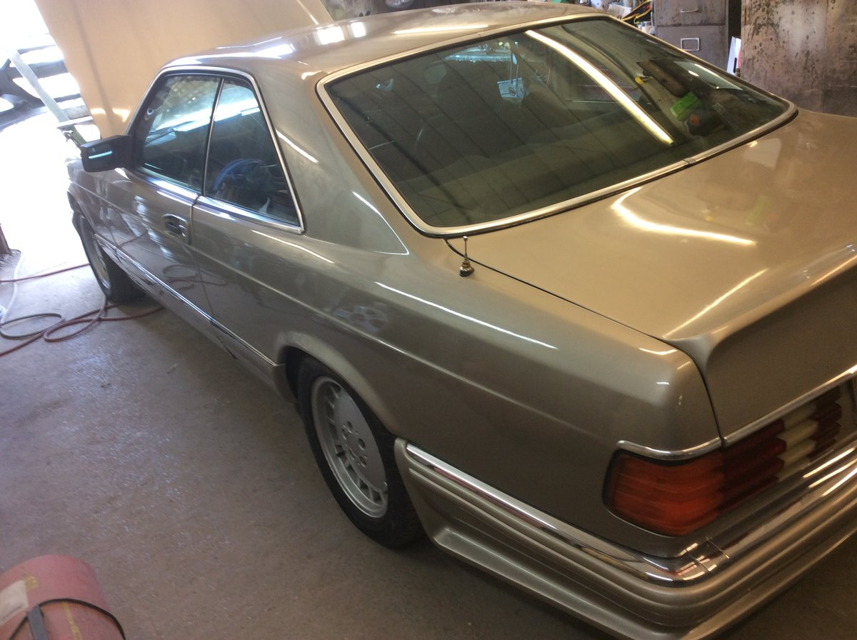 1985 Fabulous rare  MECEDES classic For Sale (picture 3 of 6)