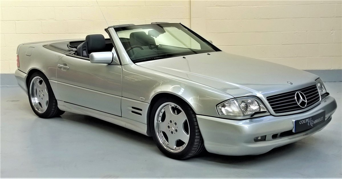 1997 Mercedes SL60 AMG SOLD (picture 1 of 6)