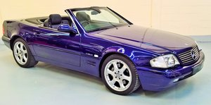 Mercedes SL320 v6 Limited Edition - 2000X with 20400 miles! For Sale