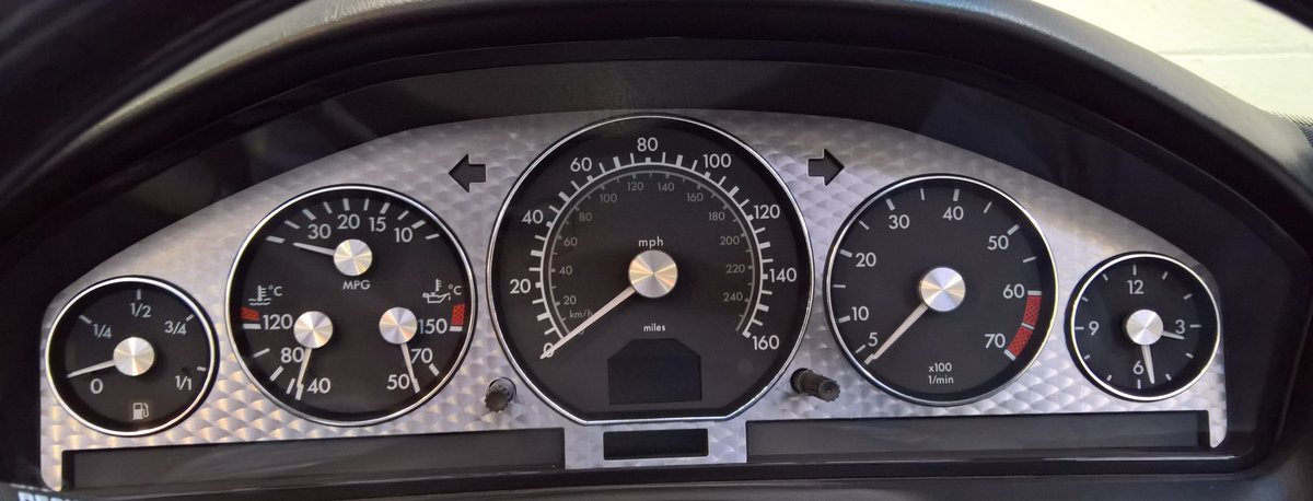 Mercedes SL320 v6 Limited Edition - 2000X with 20400 miles! For Sale (picture 5 of 6)