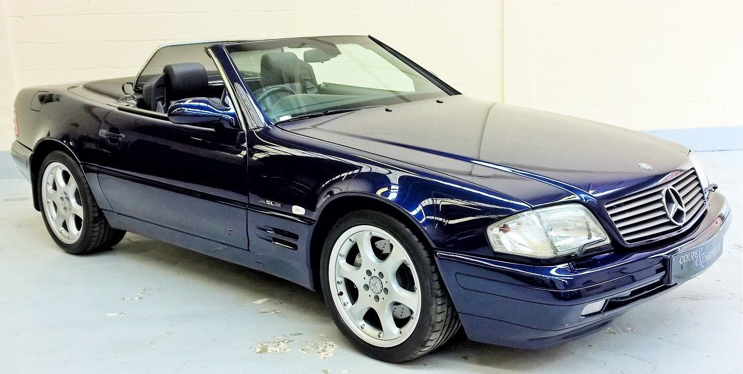 Mercedes sl320 Limited Edition - 2000X with 48000 miles For Sale (picture 1 of 6)