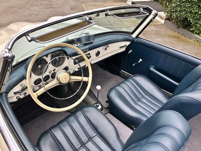 1957 MERCEDES 190 SL W121 For Sale (picture 5 of 6)