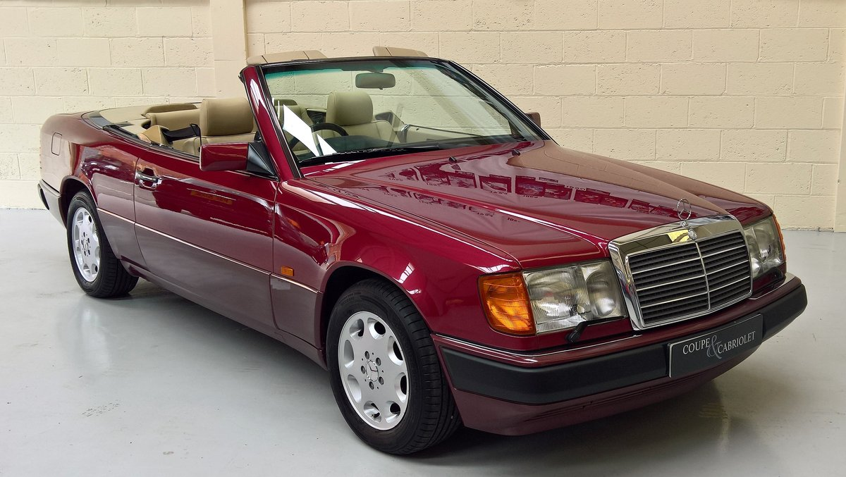 "MERCEDES 320CE ""SPORTLINE"" CABRIOLET - 1993L 53000 miles For Sale (picture 1 of 6)"