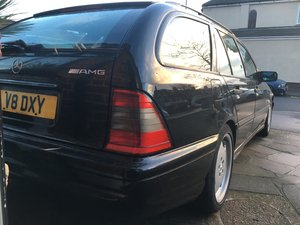 1999 C43 amg estate w202 px swap For Sale