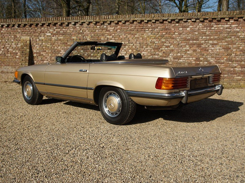 1973 Mercedes Benz 450SL W107 only 65.422 miles For Sale (picture 2 of 6)