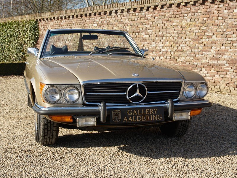 1973 Mercedes Benz 450SL W107 only 65.422 miles For Sale (picture 5 of 6)