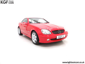2001 An Immaculate Mercedes-Benz SLK200 Kompressor (R170) SOLD