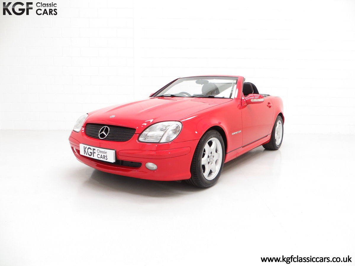 2001 An Immaculate Mercedes-Benz SLK200 Kompressor (R170) SOLD (picture 2 of 6)